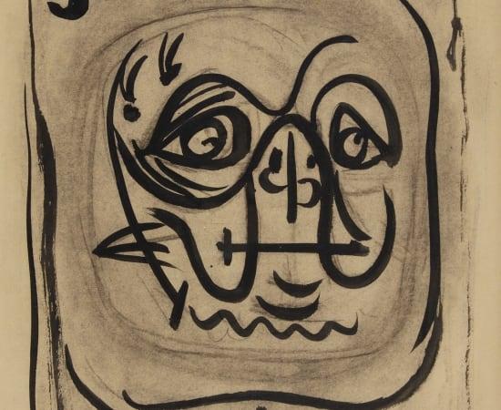 André Masson, Tête de tortue, 1941