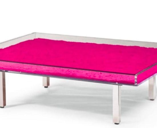Yves Klein , Pink Table, 1963