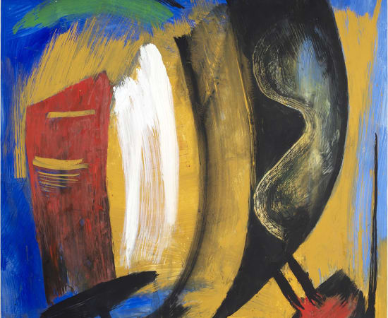 Gérard Schneider, Composition 1983