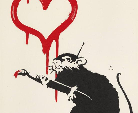 Banksy, Love Rat, 2004