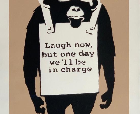 Banksy, Laugh Now, 2003
