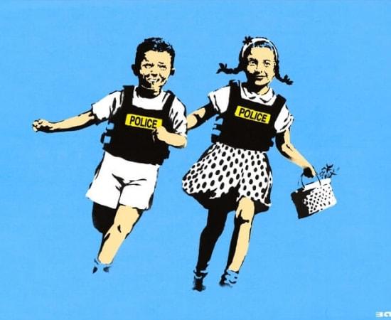Banksy, Jack & Jill, 2005