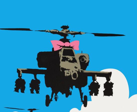 Banksy, Happy Choppers, 2003