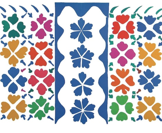 Henri Matisse, Lithographs and Vintage Posters, Décoration Masques - The Last Works of Henri Matisse, 1954