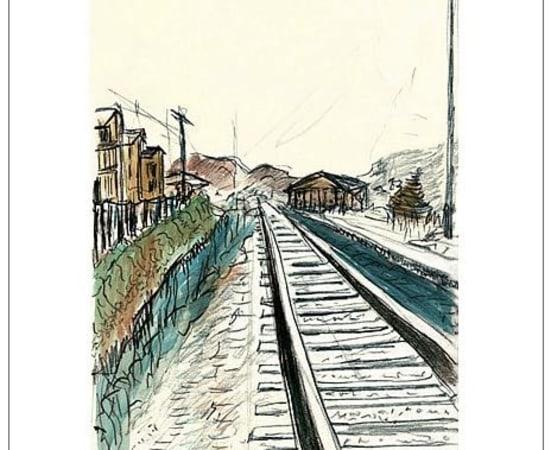 Bob Dylan, Train Tracks (white), 2008