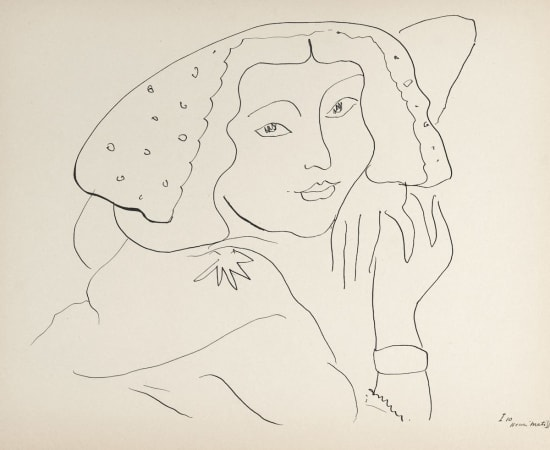 Henri Matisse, Lithographs and Vintage Posters, Untitled - Dessins, 1943