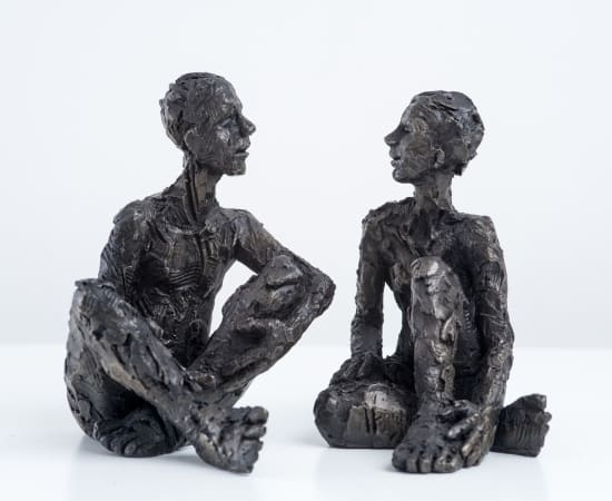 Carol Peace, Couple, Male and Female Figures 1