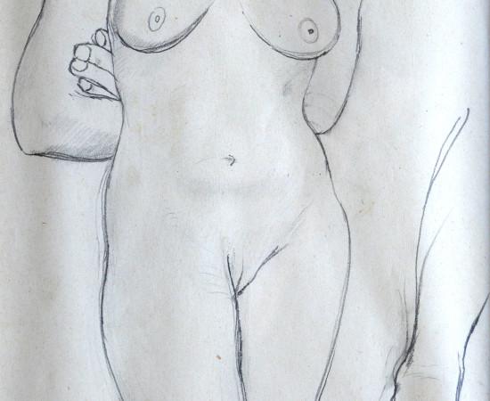 <span class=&#34;artist&#34;><strong>Patricia Preece</strong></span>, <span class=&#34;title&#34;><em>Life Study IV</em>, c.1920</span>