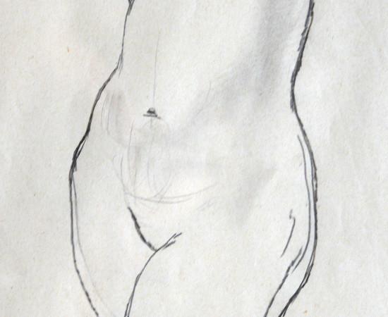 <span class=&#34;artist&#34;><strong>Patricia Preece</strong></span>, <span class=&#34;title&#34;><em>Life Study </em>, c.1920</span>