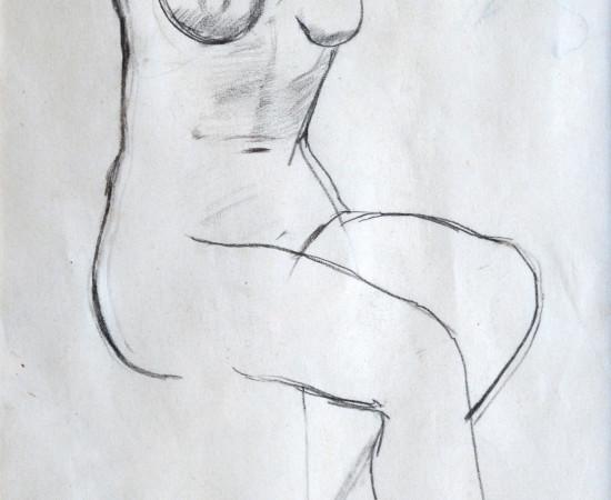 <span class=&#34;artist&#34;><strong>Patricia Preece</strong></span>, <span class=&#34;title&#34;><em>Life Study</em>, c.1920</span>
