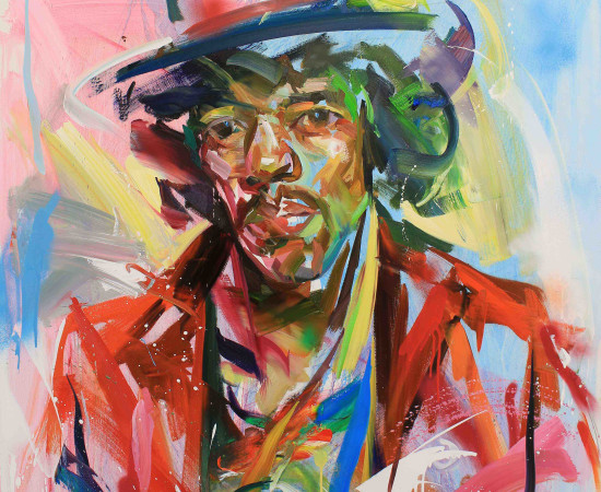 Paul Wright, Jimi Hendrix