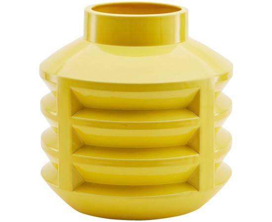 Stolen Form, Chimney Cap Vase - Yellow, 2017