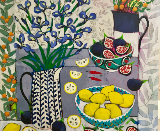 <span class=&#34;artist&#34;><strong>Relton Marine</strong></span>, <span class=&#34;title&#34;><em>Still Life with Iris and Figs</em></span>