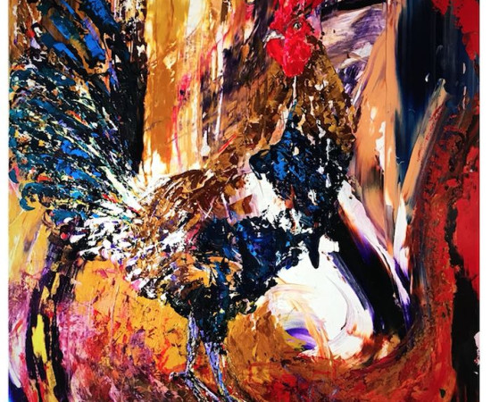 <span class=&#34;artist&#34;><strong>Daniel Hooper</strong></span>, <span class=&#34;title&#34;><em>Cocksure</em>, 2017</span>