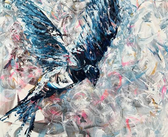 <span class=&#34;artist&#34;><strong>Daniel Hooper</strong></span>, <span class=&#34;title&#34;><em>The Swallow</em></span>