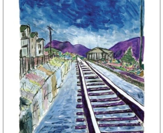 <span class=&#34;artist&#34;><strong>Bob Dylan</strong></span>, <span class=&#34;title&#34;><em>Train Tracks (large format)</em>, 2013</span>