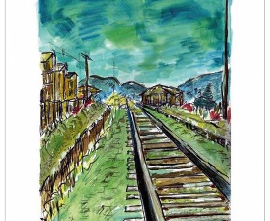 <span class=&#34;artist&#34;><strong>Bob Dylan</strong></span>, <span class=&#34;title&#34;><em>Train Tracks (medium format)</em>, 2008</span>