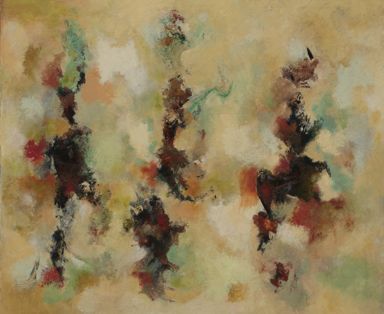 Michael Wright, Dancing Figures, 2016