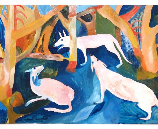 Emma Gerigscott, Dog Meeting No. 1, 2020