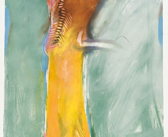 Rick Bartow, Small Hawk Standing, 2009