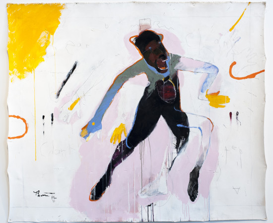 <span class=&#34;artist&#34;><strong>Rick Bartow</strong></span>, <span class=&#34;title&#34;><em>Bear Medicine</em>, 2014</span>