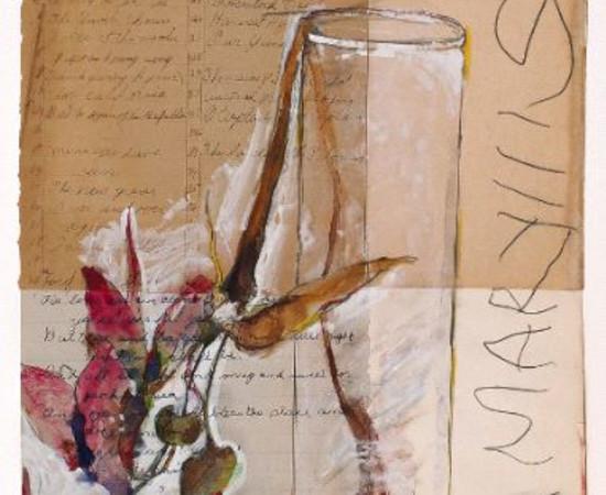<span class=&#34;artist&#34;><strong>Rick Bartow</strong></span>, <span class=&#34;title&#34;><em>Flower 100</em>, 2000</span>