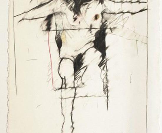 <span class=&#34;artist&#34;><strong>Rick Bartow</strong></span>, <span class=&#34;title&#34;><em>Raven & Man</em>, 1986</span>
