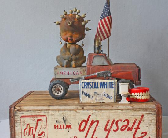 <span class=&#34;artist&#34;><strong>Willie Little</strong></span>, <span class=&#34;title&#34;><em>American Made</em>, 2016</span>