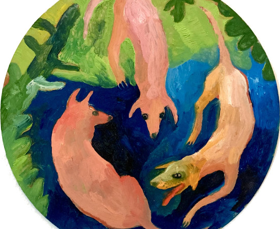 Emma Gerigscott, Dog Party No. 3, 2020