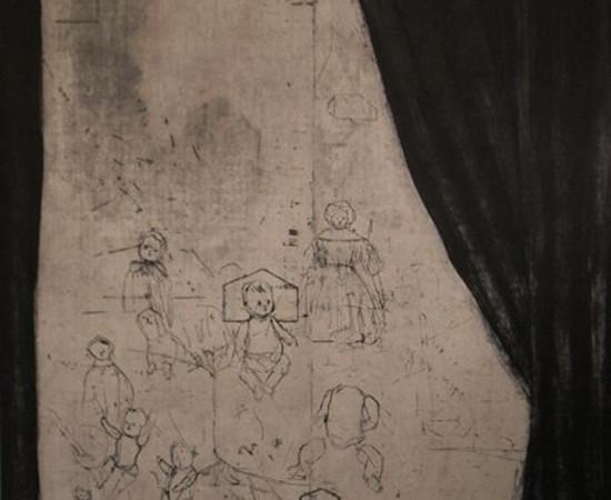 <span class=&#34;artist&#34;><strong>Ritsuko Ozeki</strong></span>, <span class=&#34;title&#34;><em>Curtain</em>, 2013</span>