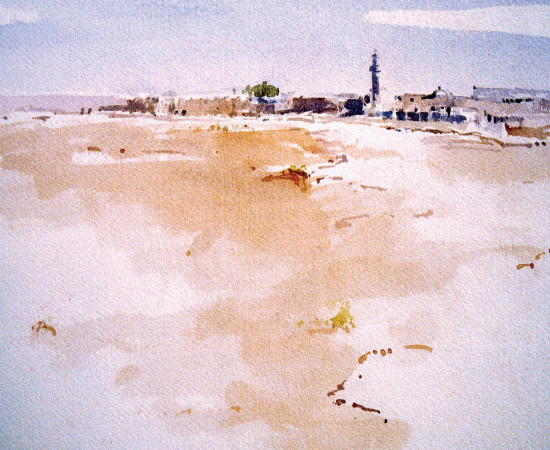 <span class=&#34;artist&#34;><strong>Rashid Al Khalifa</strong></span>, <span class=&#34;title&#34;><em>Bahraini Desert</em>, 1980</span>