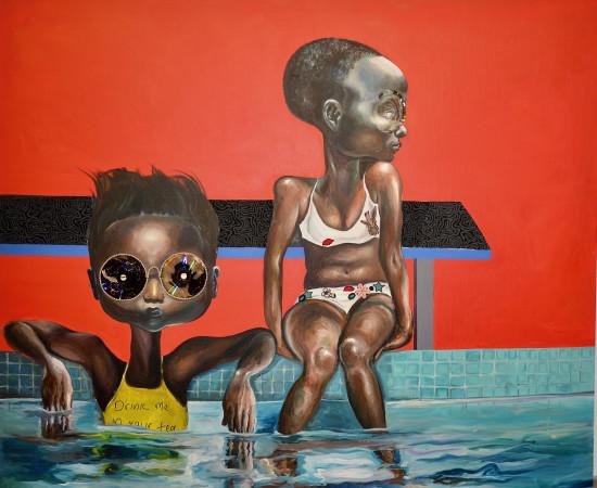 <span class=&#34;artist&#34;><strong>Ndidi Emefiele</strong></span>, <span class=&#34;title&#34;><em>Rainbowcation</em>, 2016</span>