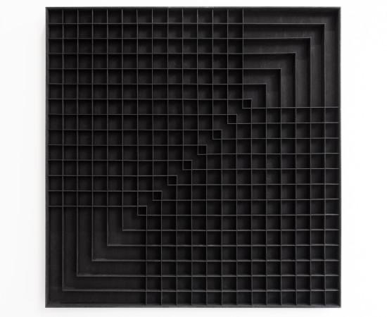 <span class=&#34;artist&#34;><strong>levi van veluw</strong></span>, <span class=&#34;title&#34;><em>A grid for guidance II</em>, 2016</span>