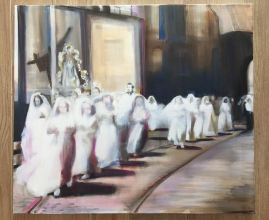 <span class=&#34;artist&#34;><strong>Helen O'Sullivan-Tyrrell</strong></span>, <span class=&#34;title&#34;><em>Communion Procession II</em></span>