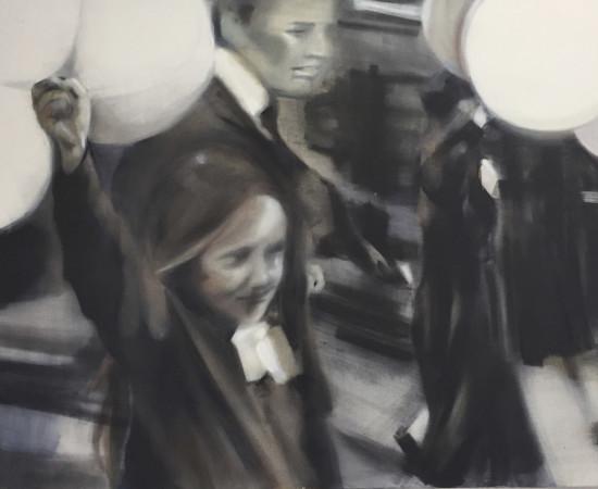 <span class=&#34;artist&#34;><strong>Helen O'Sullivan-Tyrrell</strong></span>, <span class=&#34;title&#34;><em>Saint Patrick's Day Parade</em></span>