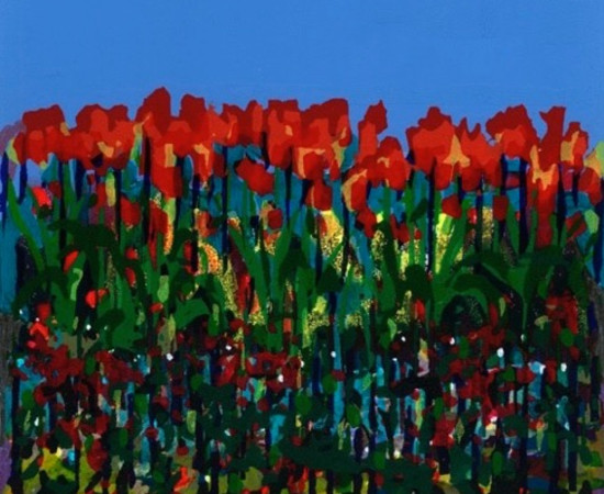 <span class=&#34;artist&#34;><strong>Bernadette Madden</strong></span>, <span class=&#34;title&#34;><em>Tulips</em></span>