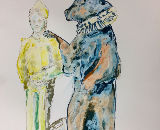David KIng, Comforting Brother Bear