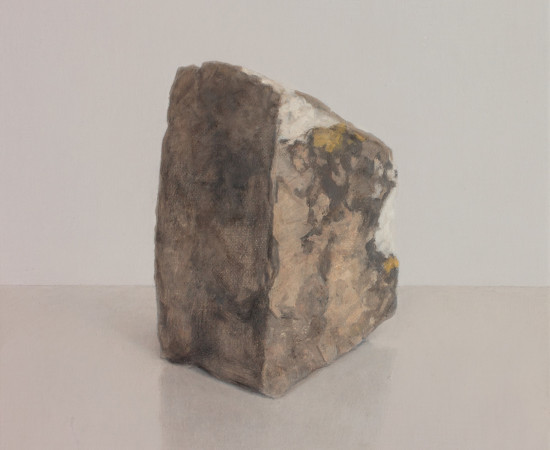 Comhghall Casey, Rock with Lichen II, 2019