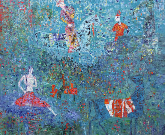 <p><span class=&#34;artist&#34;><strong>Reza Derakshani</strong></span>, <span class=&#34;title&#34;><em>Shirin and Khosrow</em>, 2016</span></p>