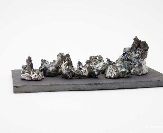 <span class=&#34;artist&#34;><strong>Paula Downing</strong><span class=&#34;artist_comma&#34;>, </span></span><span class=&#34;title&#34;>Magma Extrusion II</span>