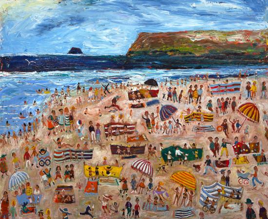 Simeon Stafford, Polzeath Beach