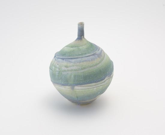 <span class=&#34;artist&#34;><strong>Hugh West</strong><span class=&#34;artist_comma&#34;>, </span></span><span class=&#34;title&#34;>Swirl Bottle Vase</span>