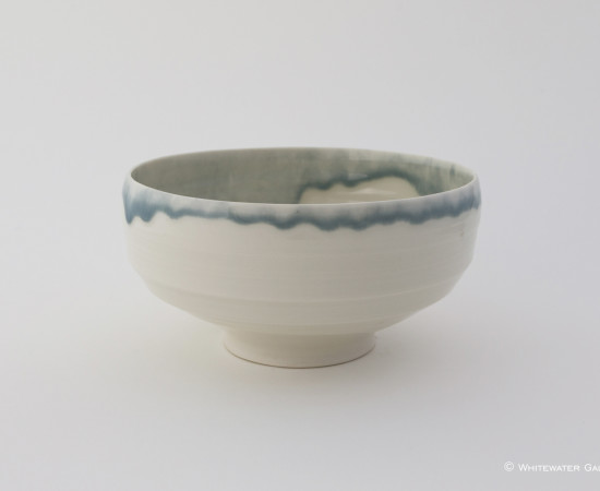 <span class=&#34;artist&#34;><strong>Rebecca Harvey</strong><span class=&#34;artist_comma&#34;>, </span></span><span class=&#34;title&#34;>Bowl with Blue Rim</span>
