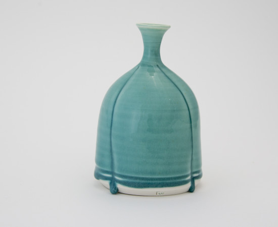<span class=&#34;artist&#34;><strong>Hugh West</strong><span class=&#34;artist_comma&#34;>, </span></span><span class=&#34;title&#34;>Three Drop Turquoise Bottle</span>