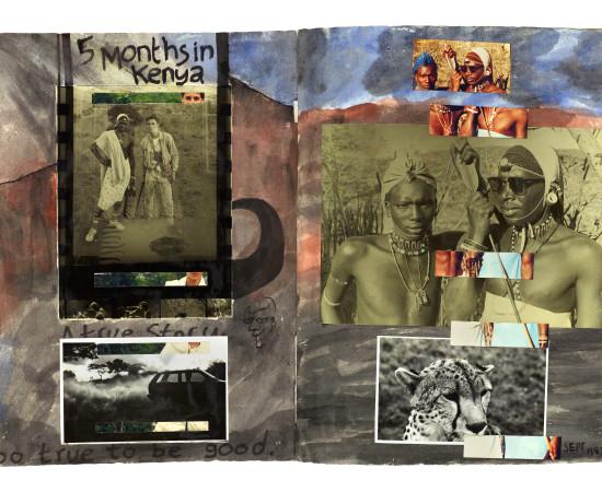 Dan Eldon, 5 Months in Kenya, Created - 1987 | Printed - 2017