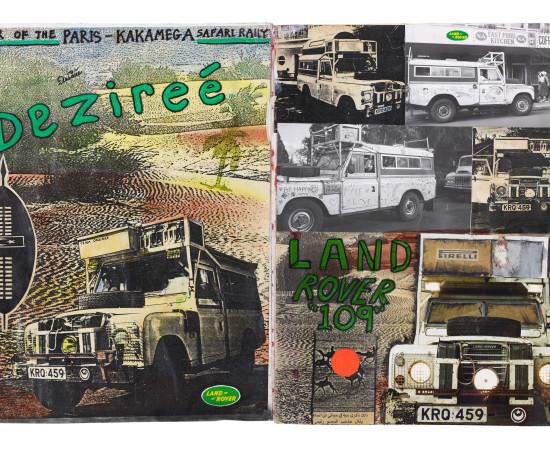 Dan Eldon, Land Rover 109, Created - 1991 | Printed - 2017