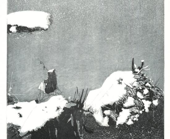 Maurice Maillard, Matin de gel, 2009