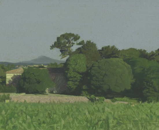 Jean-Michel Bacquet, Le Château de Selle, matin de fin de printemps, 2011-2019