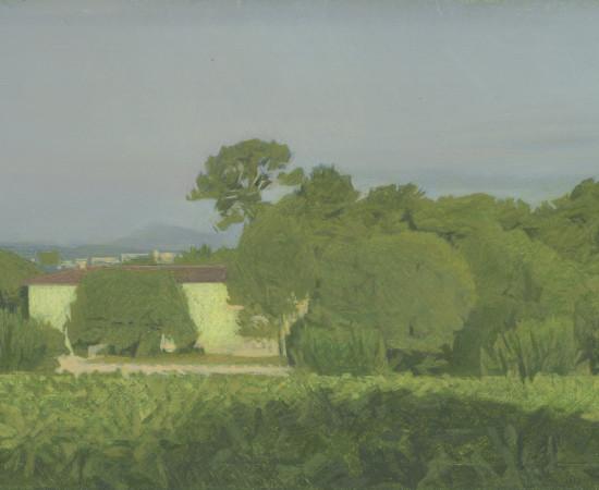 Jean-Michel Bacquet, Le Château de Selle, matin d'automne, 2011-2019