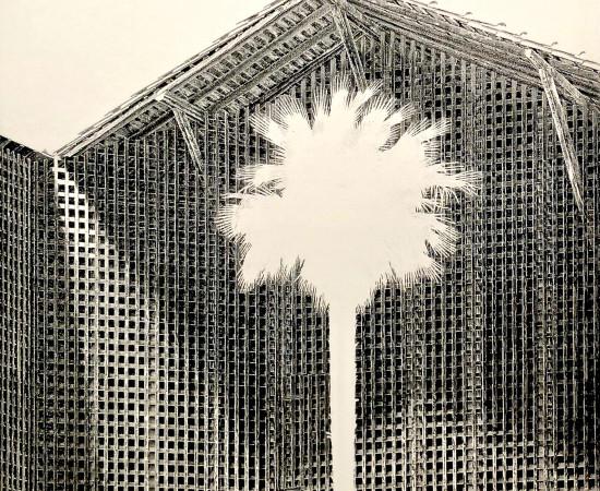 Jacques Muron, La Maison oblique, 1998